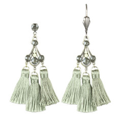 Anne Koplik Brooke Triple Tassel Earrings