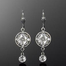 Anne Koplik Byzantine Circle Earrings