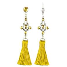Anne Koplik Cassandra Tassel Earrings