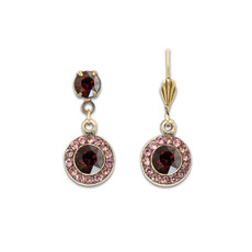 Anne Koplik Classic Burgundy Beauty Earrings