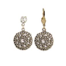 Anne Koplik Classic Sophia Crystal Earrings