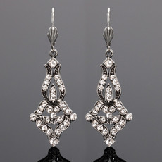 Anne Koplik Crystal Adelina Earrings