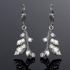 Anne Koplik Crystal Vine Earrings