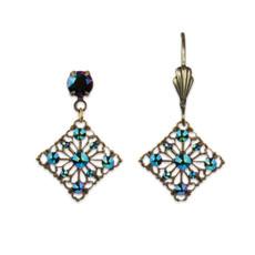 Anne Koplik Delicate Lace-Like Earrings