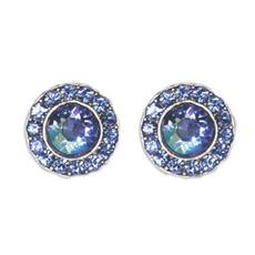 Anne Koplik Double Sapphire Stud Earrings