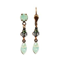 Anne Koplik Eleanora Green Isle Earrings