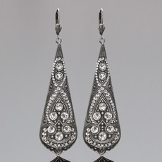 Anne Koplik Flamenco Swirl Earrings