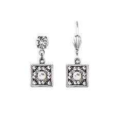 Anne Koplik Gatsby's Daisy Square Earrings