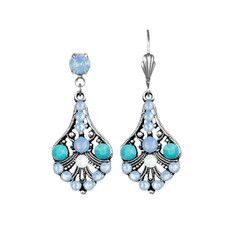 Anne Koplik Heavenly Blue Christie Earrings