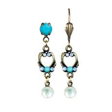 Anne Koplik Heavenly Blue Lenora Earrings