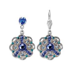 Anne Koplik In Love With Blue Earrings