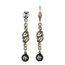 Anne Koplik Lacy Crystal Earrings