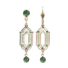 Anne Koplik Lulu Green Isle Earrings
