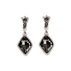 Anne Koplik Marquise Drop Earrings