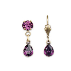 Anne Koplik Passionate Purple Sunset Earrings