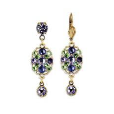 Anne Koplik Shades of Purple Earrings