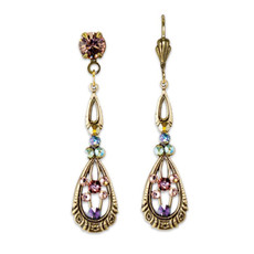 Anne Koplik Viola Renaissance Revival Earrings