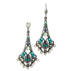 Anne Koplik White Opal Belle Epoch Earrings