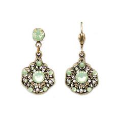 Anne Koplik Willa Green Isle Earrings
