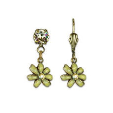 Anne Koplik Flower Earrings