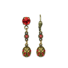 Anne Koplik Ladybug Earrings