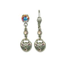 Anne Koplik Lock Heart Treasure Earrings