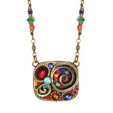 Michal Golan Jewelry Confetti Square Necklace