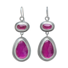 Nava Zahavi Silver Royal Earrings