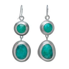 Nava Zahavi Silver Origins Earrings
