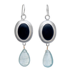 Nava Zahavi Silver Sierra Earrings