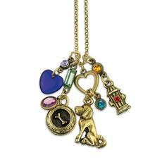 Anne Koplik Loving My Dog Jumble Charm Necklace