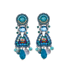 Ayala Bar Hidden Beach Aquamarine Earrings