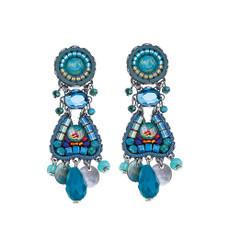 Ayala Bar Hidden Beach Aquamarine Earrings