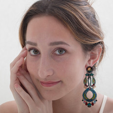 Ayala Bar Turquoise Crown Limited Edition Earrings