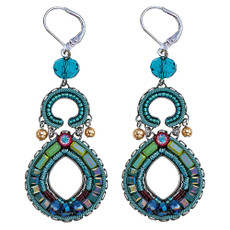 Ayala Bar Turquoise Crown French Wire Earrings