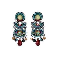 Ayala Bar Turquoise Crown Tahiti Earrings