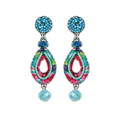 Ayala Bar Shell Beach Tutti Frutti Earrings
