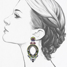 Ayala Bar Ethereal Spirit Endless Summer Earrings