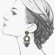 Ayala Bar Ethereal Spirit Bohemian Rhapsody Earrings