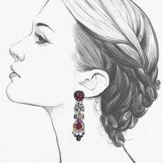 Ayala Bar Ethereal Spirit Daisy Earrings
