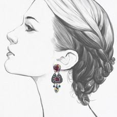 Ayala Bar Ethereal Spirit Lovestruck Earrings