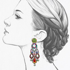 Ayala Bar Zen Arcade Mariachi Earrings