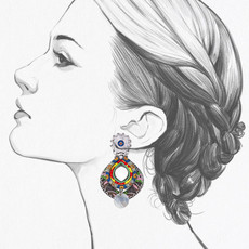 Ayala Bar Zen Arcade Tea Time Earrings
