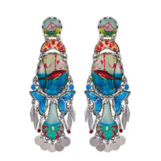 Ayala Bar Clear Coast School of Fish Earrings