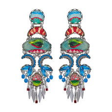 Ayala Bar Clear Coast Baywatch Earrings