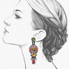 Ayala Bar Swing Song Lovebug Earrings