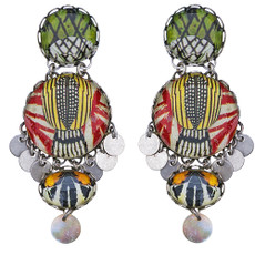 Ayala Bar Swing Song Passionfruit Earrings