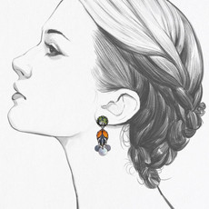 Ayala Bar Swing Song Serenity Earrings
