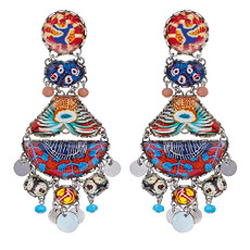 Ayala Bar Afro-Desia Funkytown Earrings