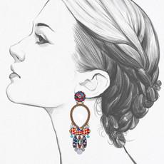 Ayala Bar Afro-Desia Groovy Tuesday Earrings